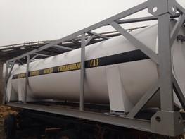 Резервуары для транспортировки и хранения жидкой двуокиси углерода